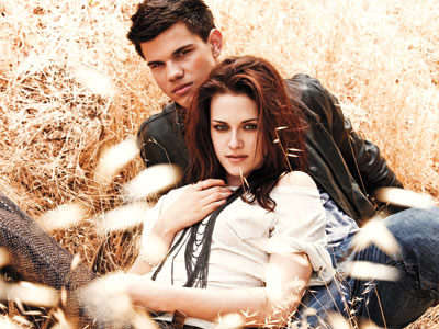 Taylor Lautner & Kristen Stewart Heat Up EW | Shine On Media