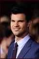 Taylor Lautner at the premiere of Breaking Dawn Part 1