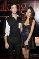 Ethan Peck & Kelsey Chow at the premiere of Breaking Dawn Part 1