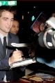 Robert Pattinson at the premiere of Breaking Dawn Part 1