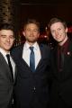 Charlie Hunnam with Student Filmmaker Winners Julian Conner and Tom Teller
