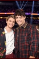 Jace Norman (L) and Noah Centineo attend Nickelodeon's 2019 Kids' Choice Awards at Galen Center on March 23, 2019 in Los Angeles, California.