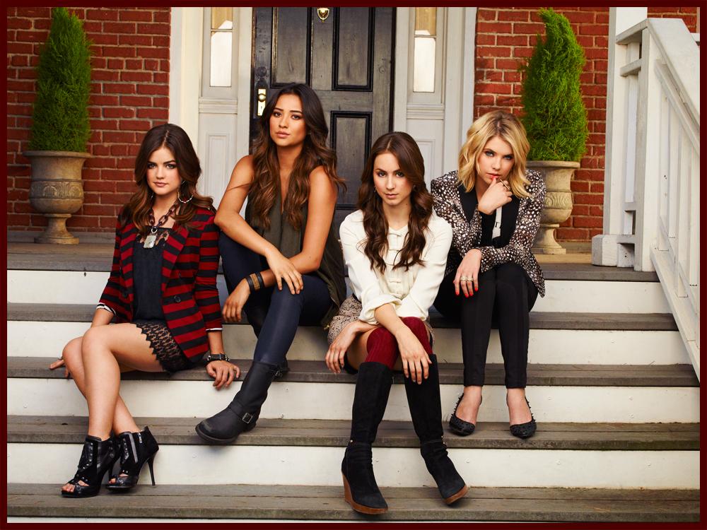 "Shine On Media   New ""Pretty Little Liars"" Season 4 Promo Pics"