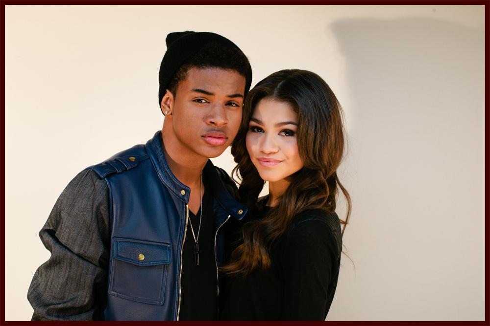 Zendaya and trevor jackson music video