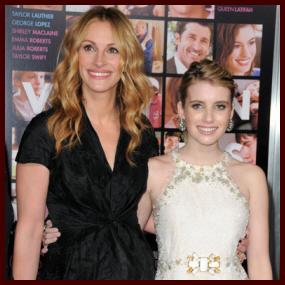 Emma Roberts: Valentine's Day Family Affair | Shine On Media