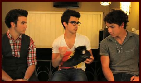 Steven R Mcqueen Barefoot Jonas brothers & debby ryan: