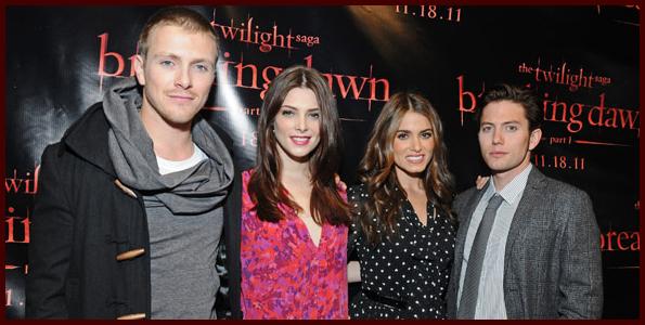 Ashley Greene Charlie Bewley Nikki Reed Jackson Rathbone Twilight San Francisco