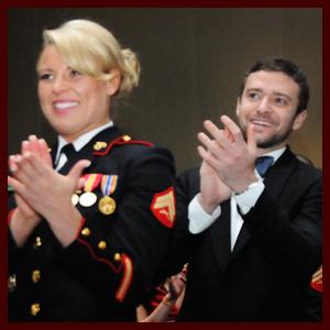 Justin Timberlake Marine Corps Ball