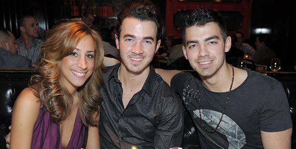 Kevin Danielle and Joe Jonas Celebrate in Vegas