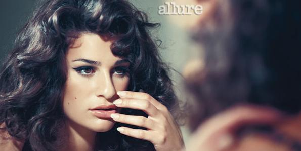 Lea Michele Allure Photoshoot