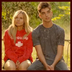 David Lambert Romances Kristen Bell in 'The Lifeguard' Trailer
