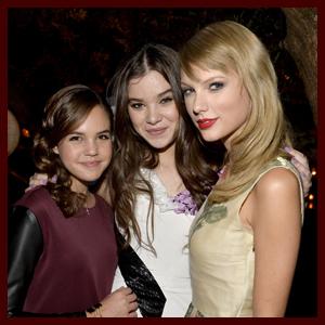 Taylor Swift & Bailee Madison: 'Romeo & Juliet' Premiere with Hailee Steinfeld