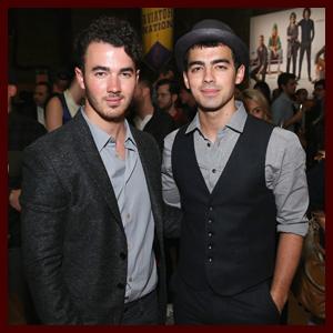"Kevin & Joe Jonas: GQ & Gap Celebration & Nick Jonas Starts Filming ""Hawaii Five-O"""