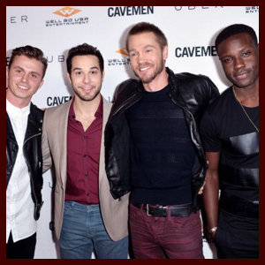 Skylar Astin & Chad Michael Murray Premiere 'Cavemen' & Cast Gives Us Friendzone Tips
