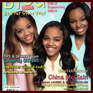 McCLAIN Cover BYOU Magazine's Sisterhood Issue