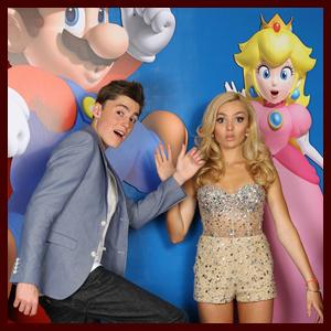 Peyton & Spencer List Celebrate their Sweet 16 with Nintendo at Skateland
