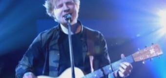 "Ed Sheeran Debut New Song ""Thinking Out Loud"" On Jools Holland"