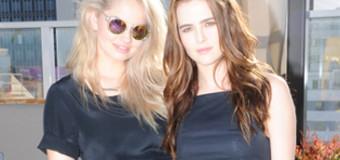 Debby Ryan, Zoey Deutch & Victoria Justice Celebrate at Kate Spade Saturday's Summer Solstice Party