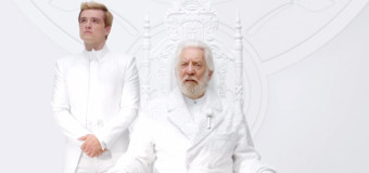 First Teaser for 'The Hunger Games: Mockingjay Part 1′ Shows President Snow & Peeta