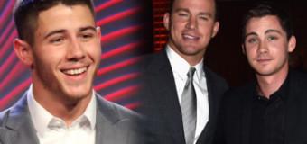 Nick Jonas, Logan Lerman, Robert Pattinson & More Attend HFPA Grants Banquet