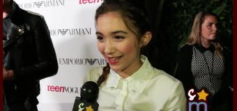 Rowan Blanchard Teases GIRL MEETS WORLD Holiday Reunion & More