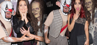 Vanessa Hudgens, Kelli Berglund, Olivia Holt & More Get Scared at Knott's Scary Farm