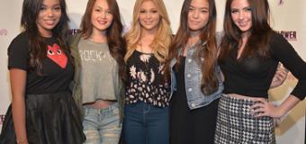 Olivia Holt, Kelli Berglund & Piper Curda Share Fashion Tips at Wallflower Jeans Event