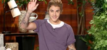 Justin Bieber Stops By Ellen to Prank Call a Fan