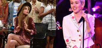 Taylor Swift, Miley Cyrus & Emma Stone Drop By Saturday Night Live 40th Anniversary