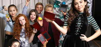 Rowan Blanchard Celebrates Nintendo's Winter Wonderland with Landry Bender, Yara Shahidi & More