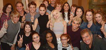 "Sofia Carson, China McClain & ""Descendants 2"" Cast Share BTS Photos"