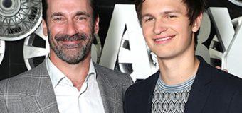 Ansel Elgort & Jon Hamm Bring 'Baby Driver' to CinemaCon 2017